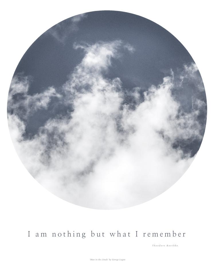 man in the clouds © George Logan