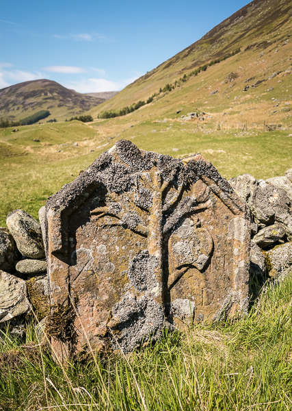 Gravestone, Glen Almond © George Logan 2019